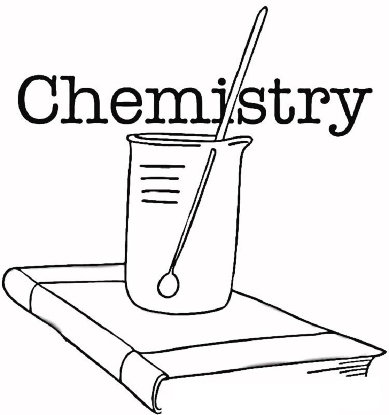 chemistry coloring pages 2