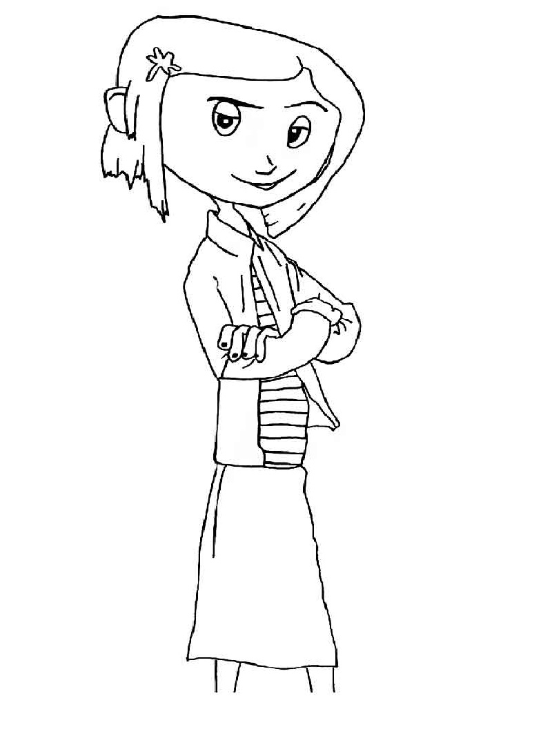 coraline coloring pages 2