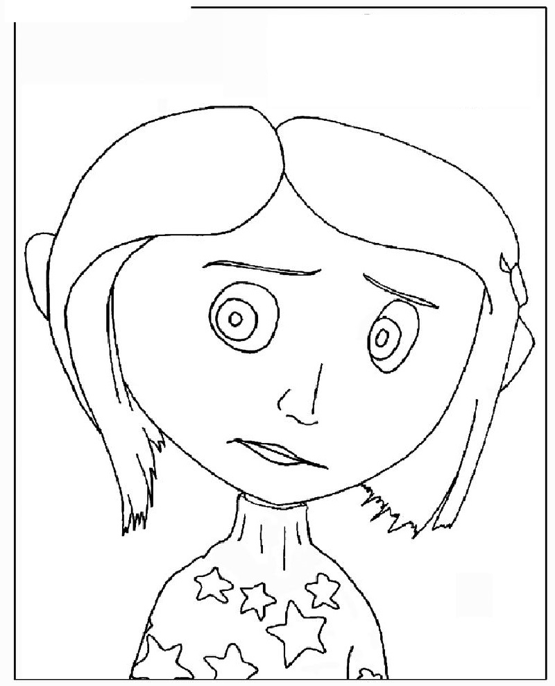 coraline coloring pages 5