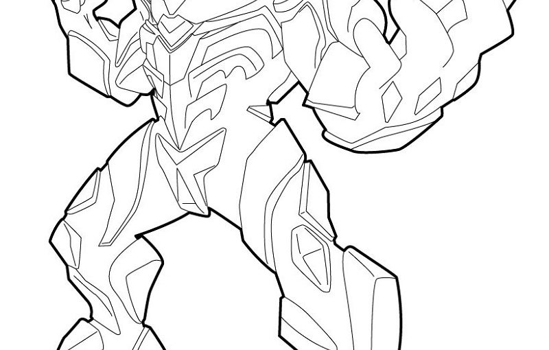 max steel coloring pages four