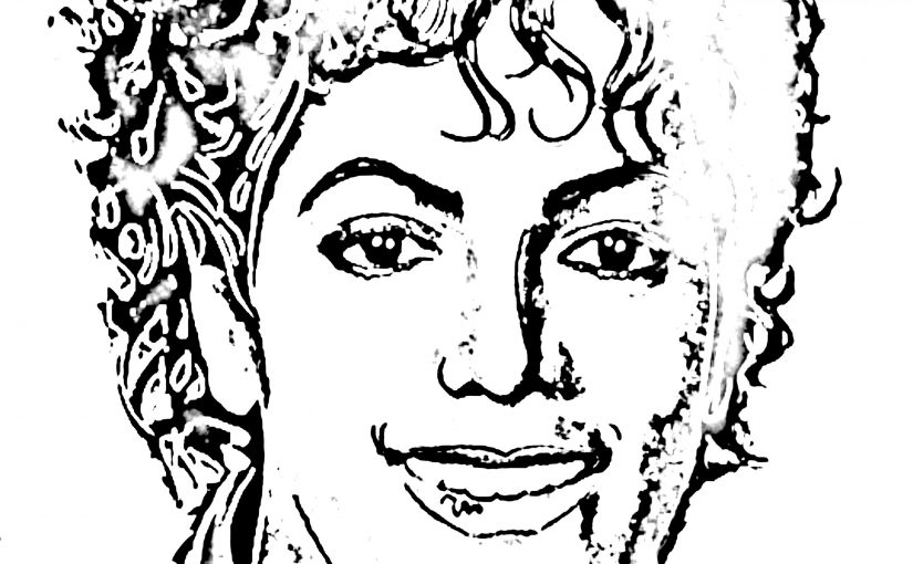 michael jackson coloring pages 3