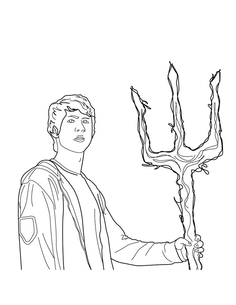 percy jackson coloring pages 2