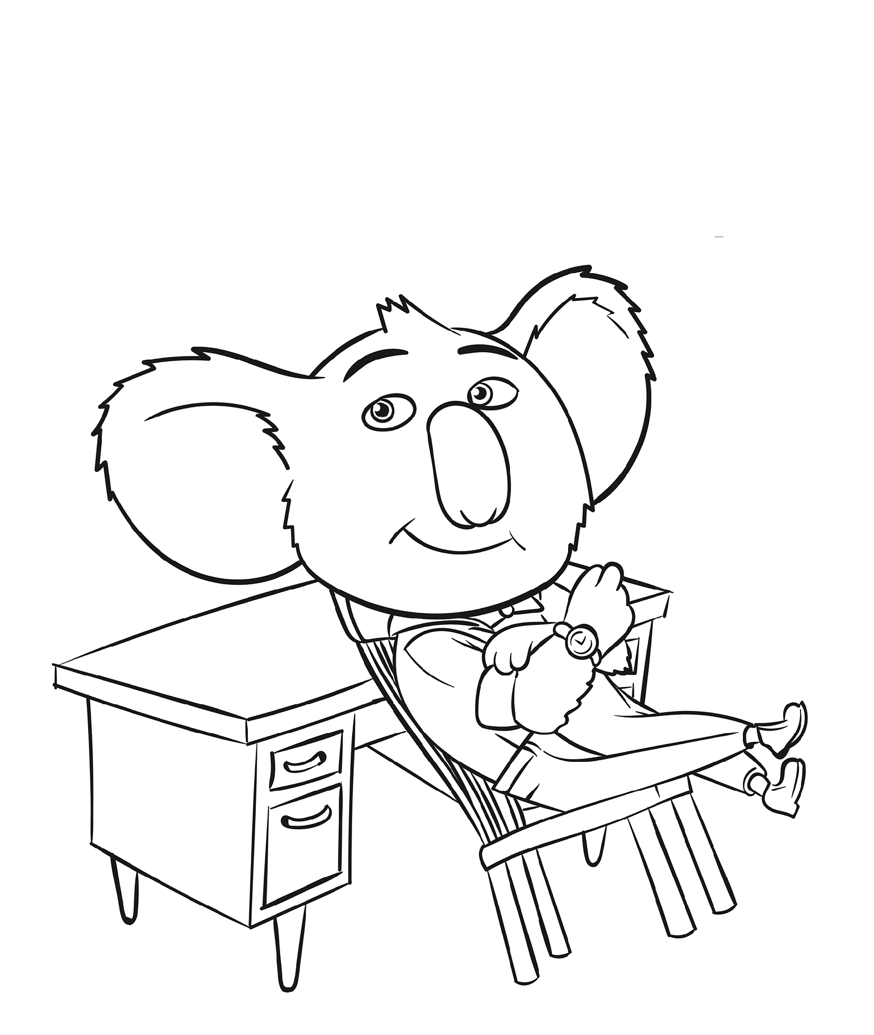 sing movie coloring pages 2