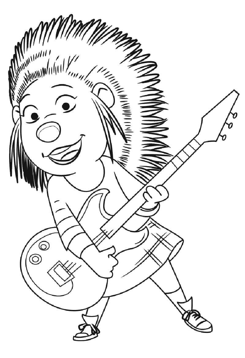 sing movie coloring pages 3