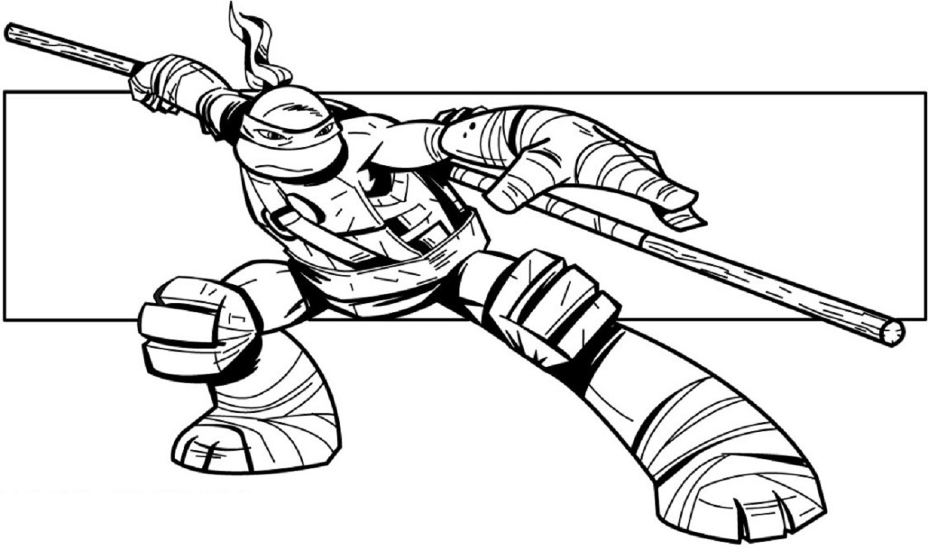 teenage mutant ninja turtles coloring pages 5