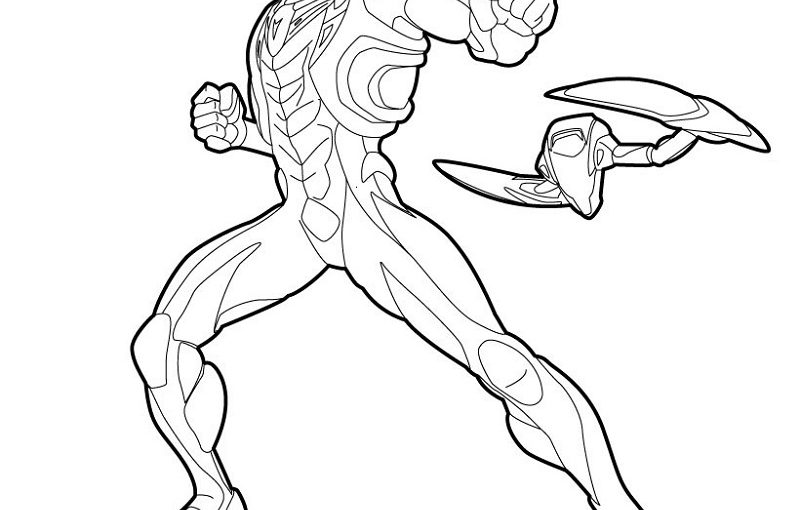 Max Steel Coloring Pages Free Download