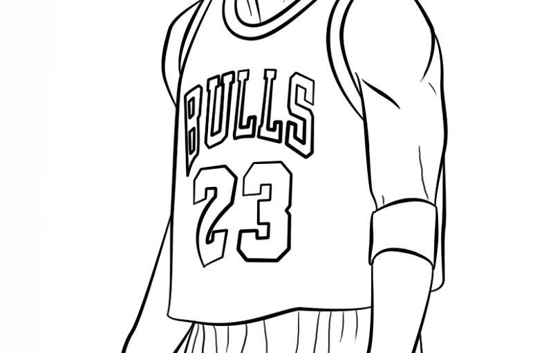 Michael Jordan Coloring Pages Free