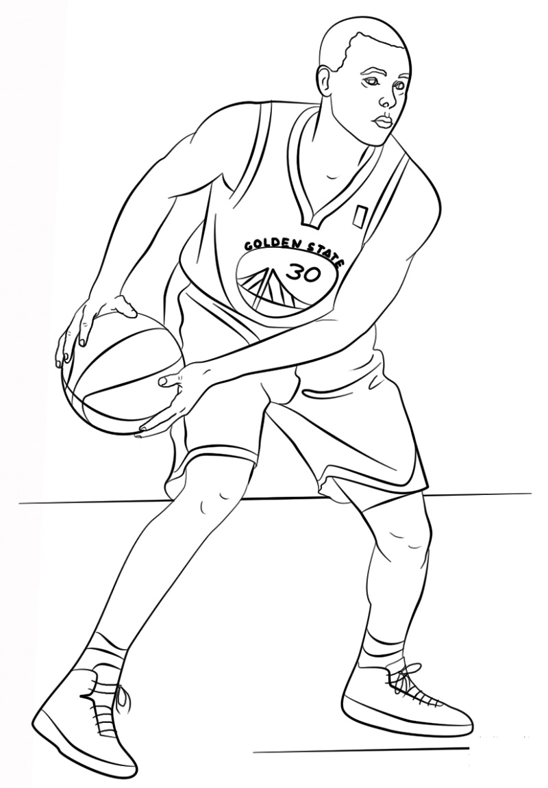 Michael Jordan Coloring Pages Jersey