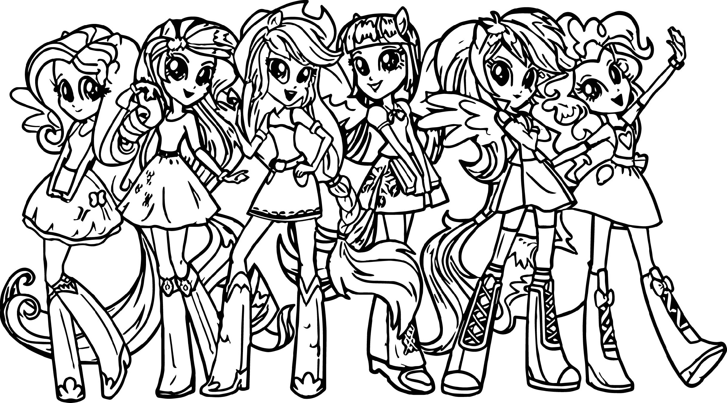 My Little Pony Coloring Pages For Pony Lovers | Educative ...