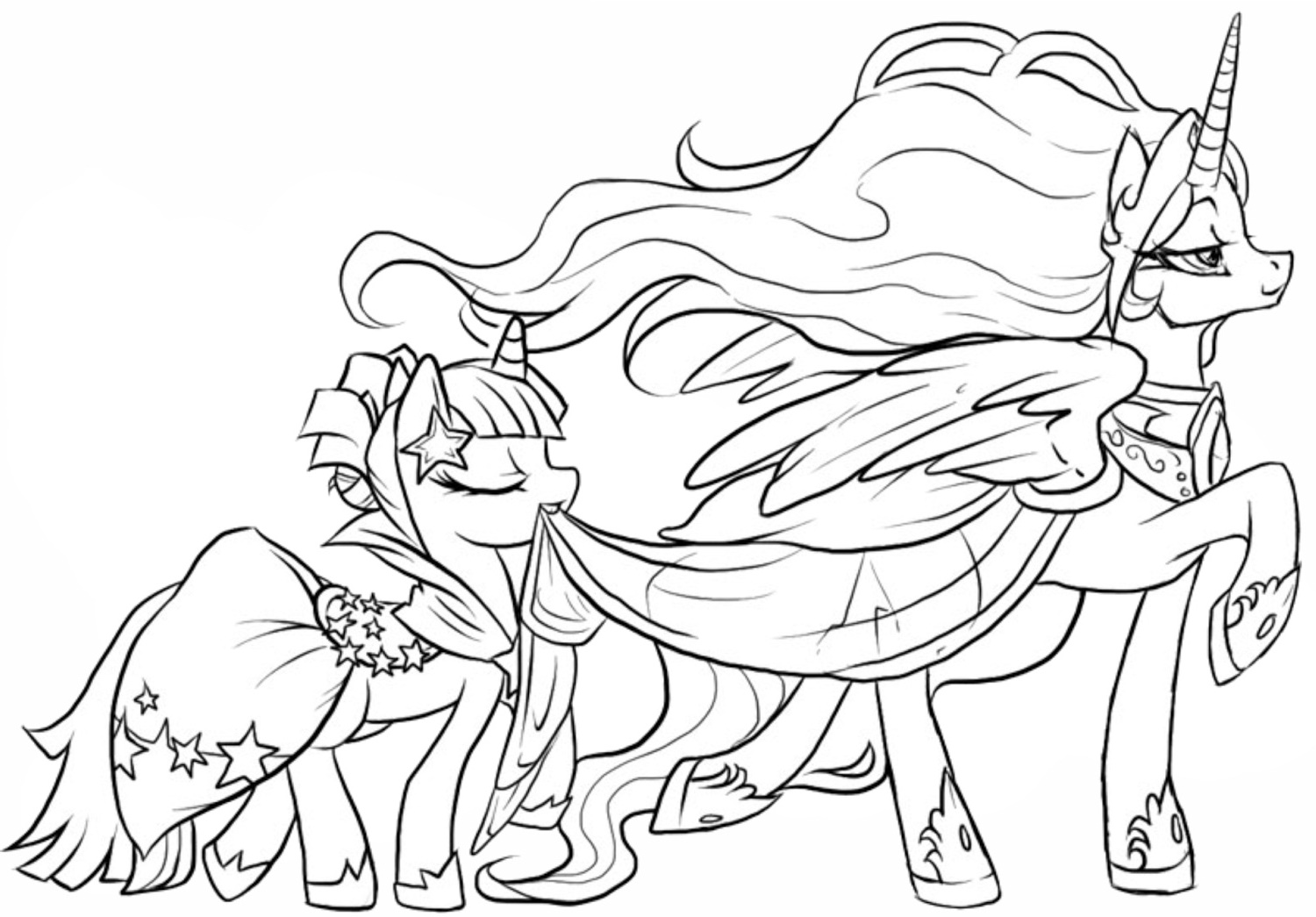 My Little Pony Coloring Pages Pdf Free