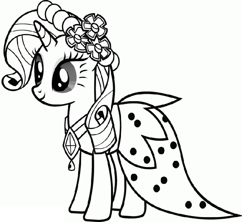 My Little Pony Coloring Pages Pdf To Print