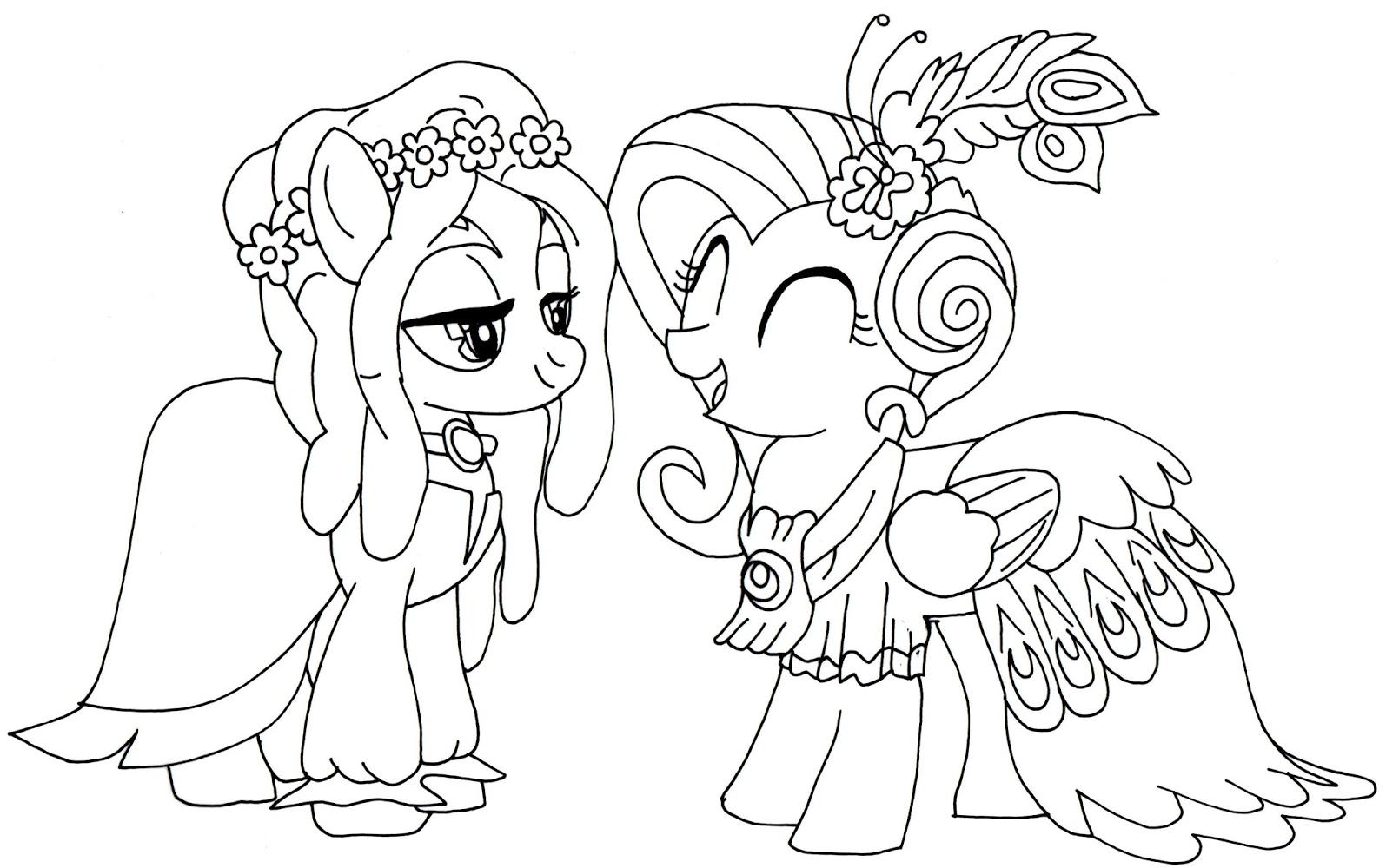 My Little Pony Coloring Printable