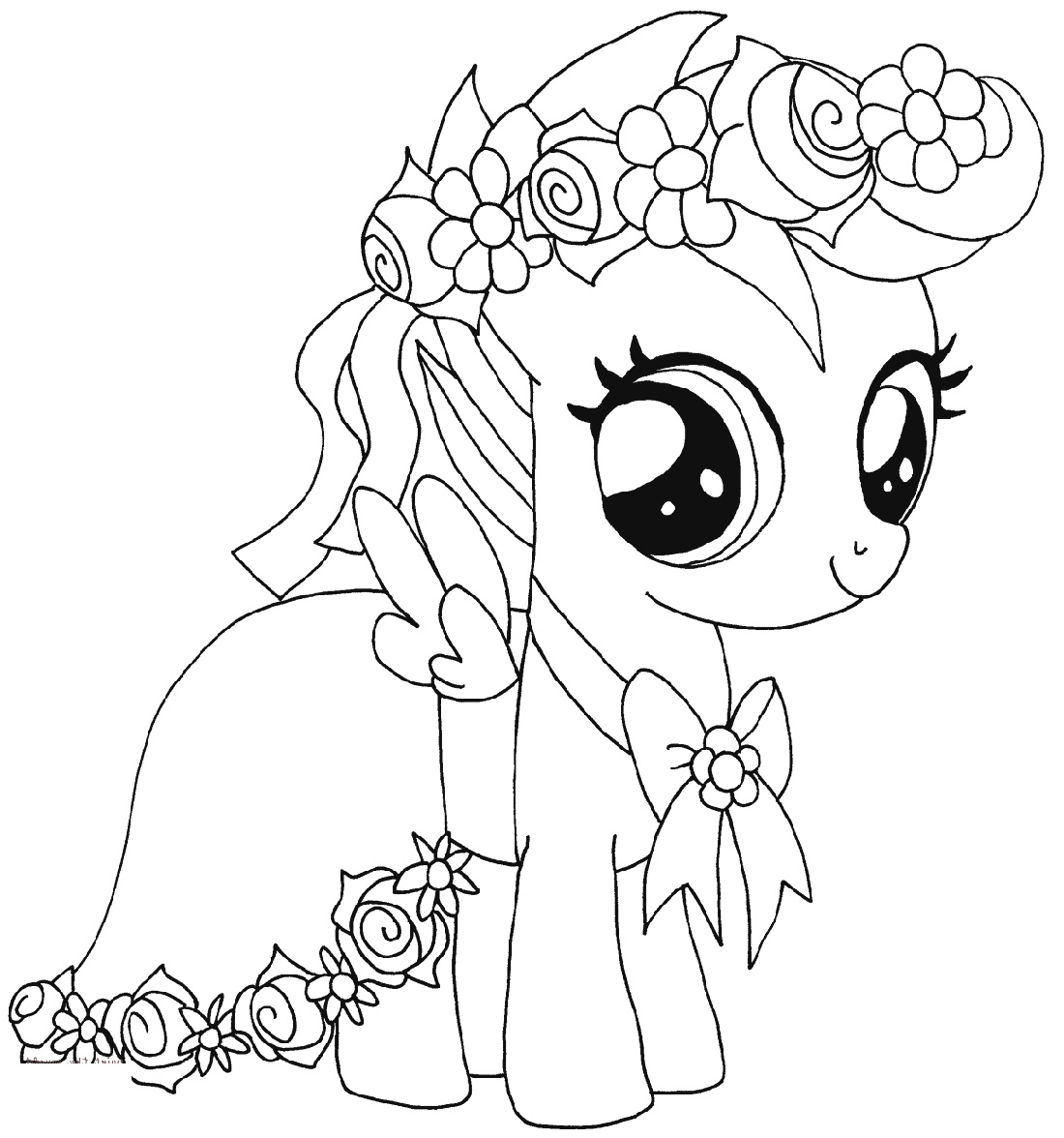 My Little Pony Coloring Scootaloo