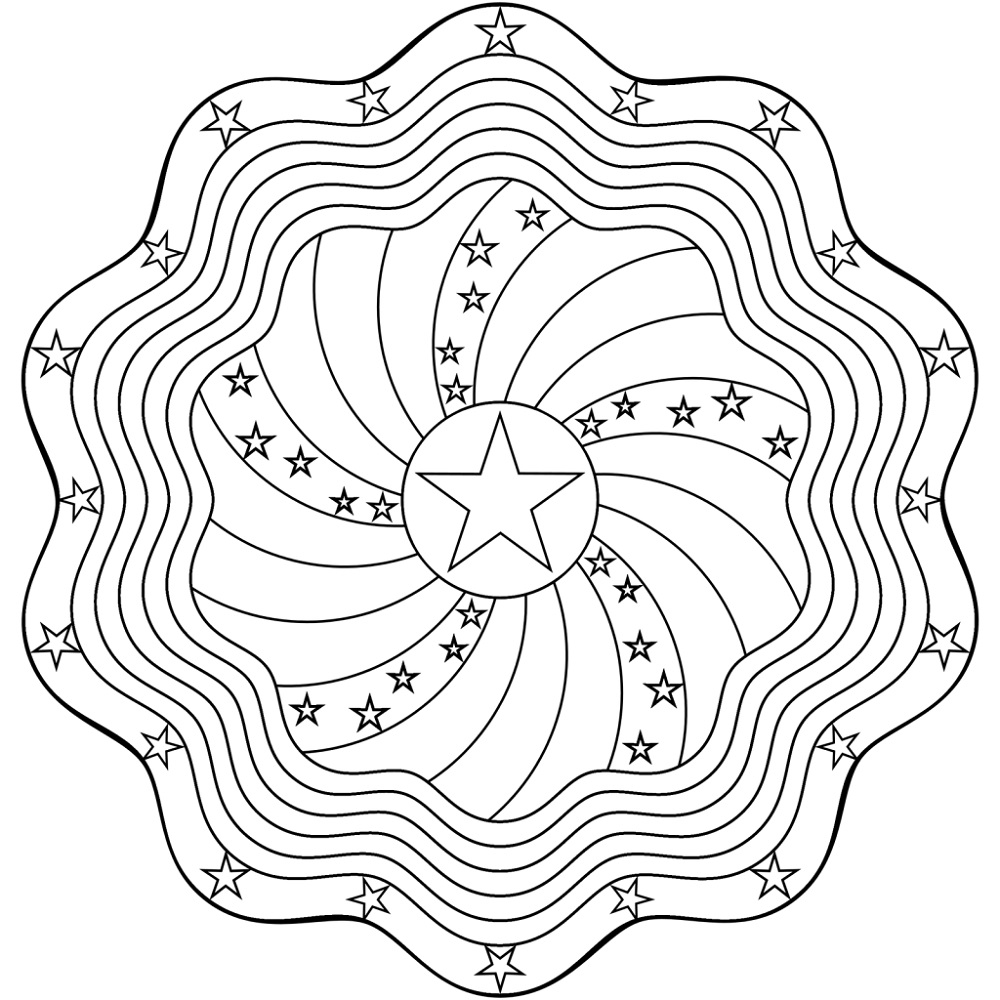 Online Mandala Coloring For Kids