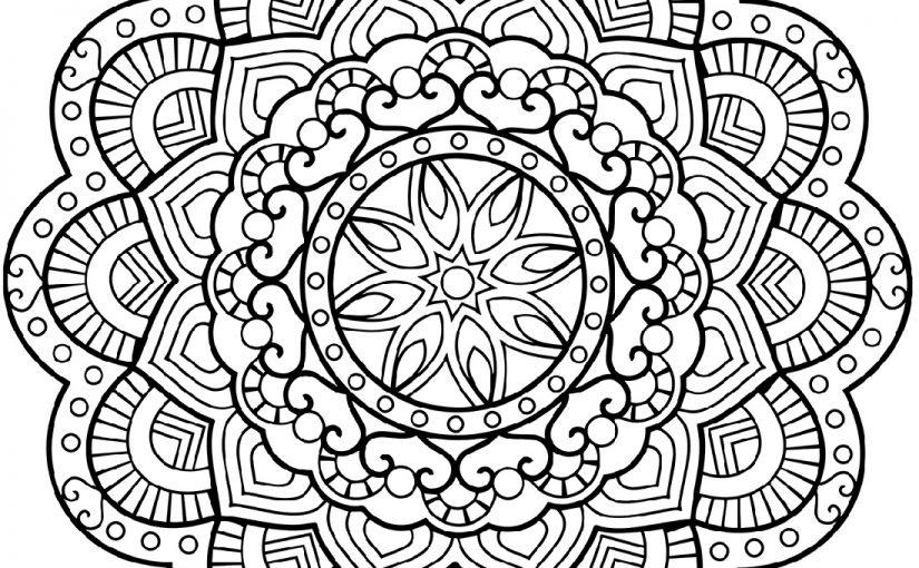 Online Mandala Coloring Free