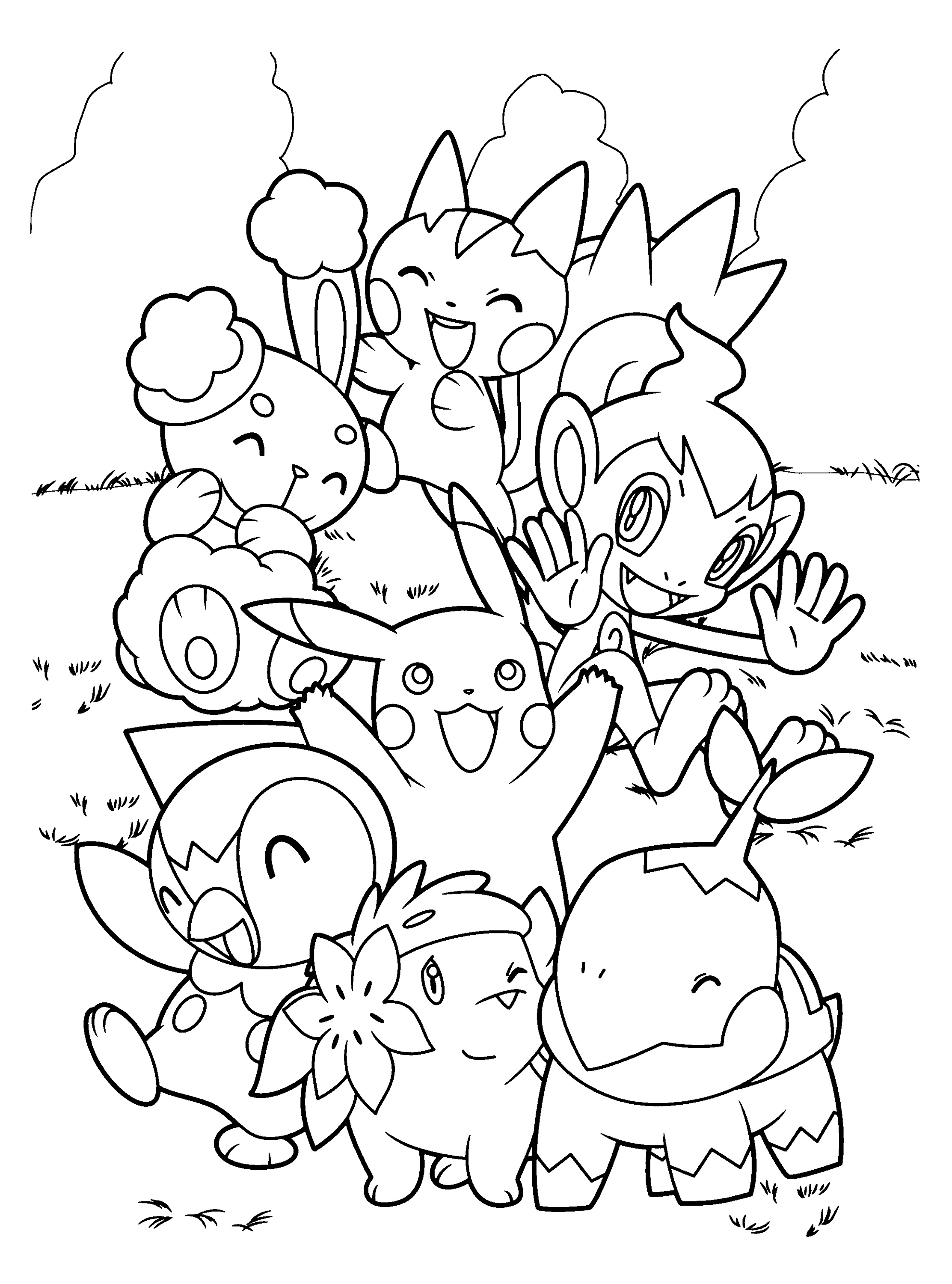 Pokemon Coloring Games Free