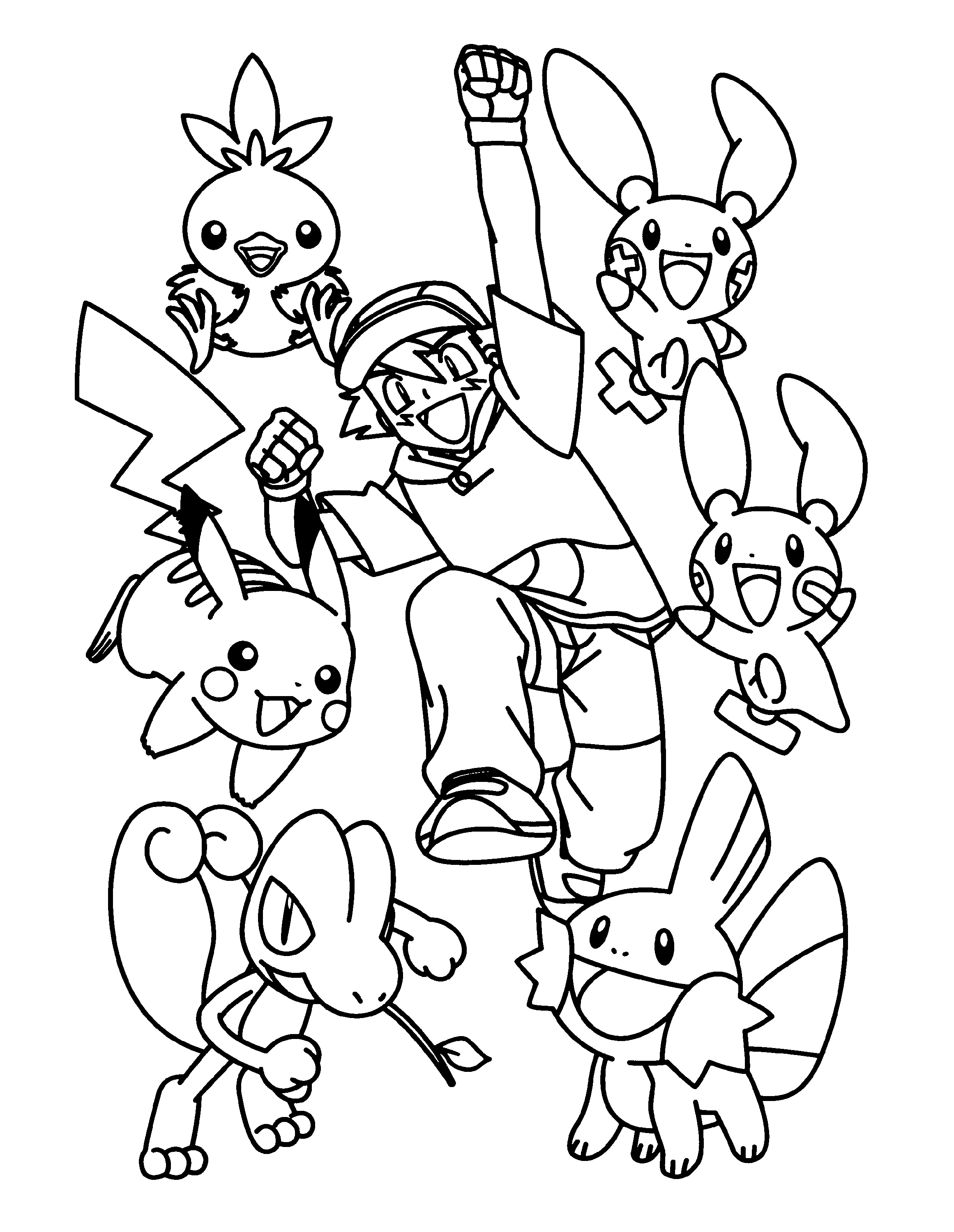 Pokemon Coloring Games Printable