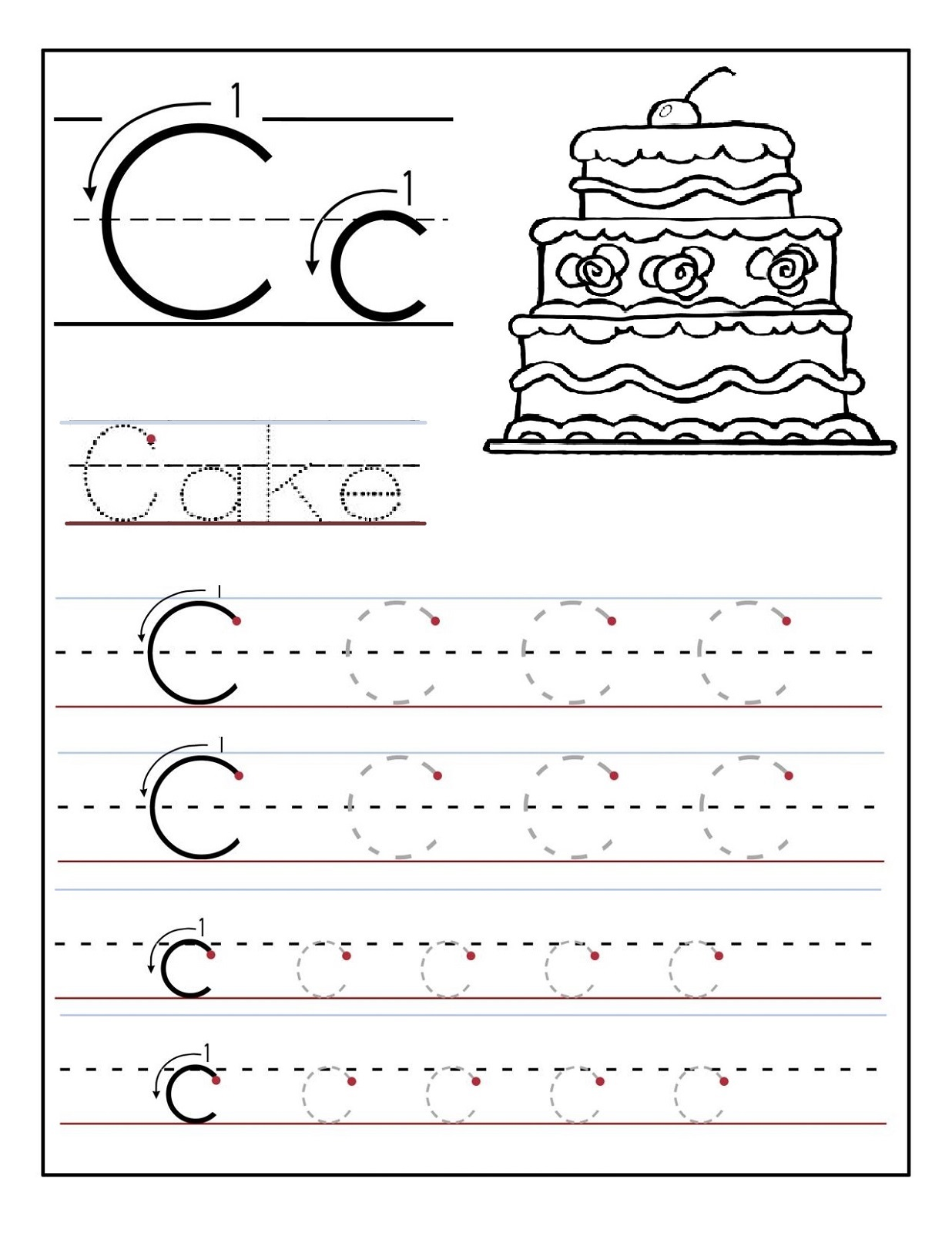 alphabet worksheets for preschoolers 2