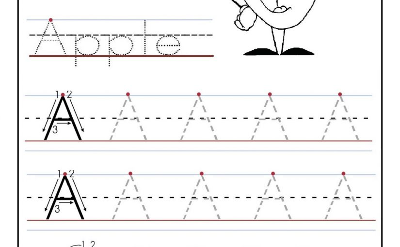 alphabet worksheets for preschoolers 4