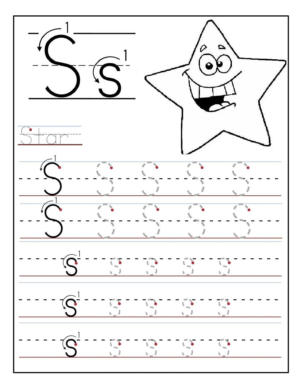 alphabet worksheets for preschoolers 5