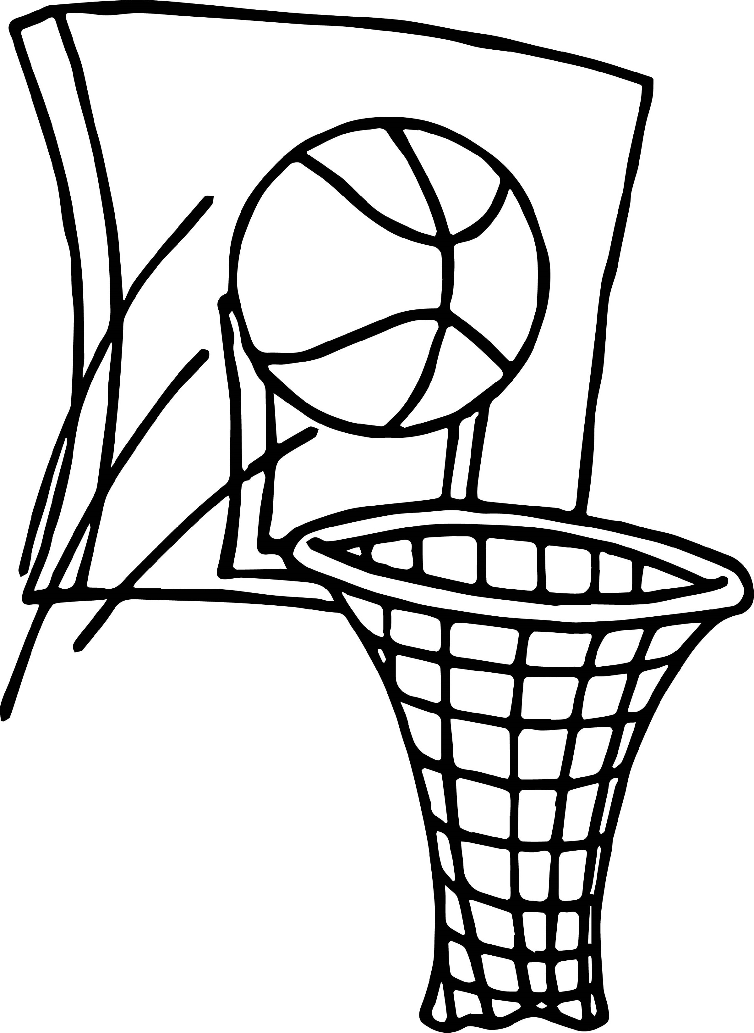 basketball coloring pages 4