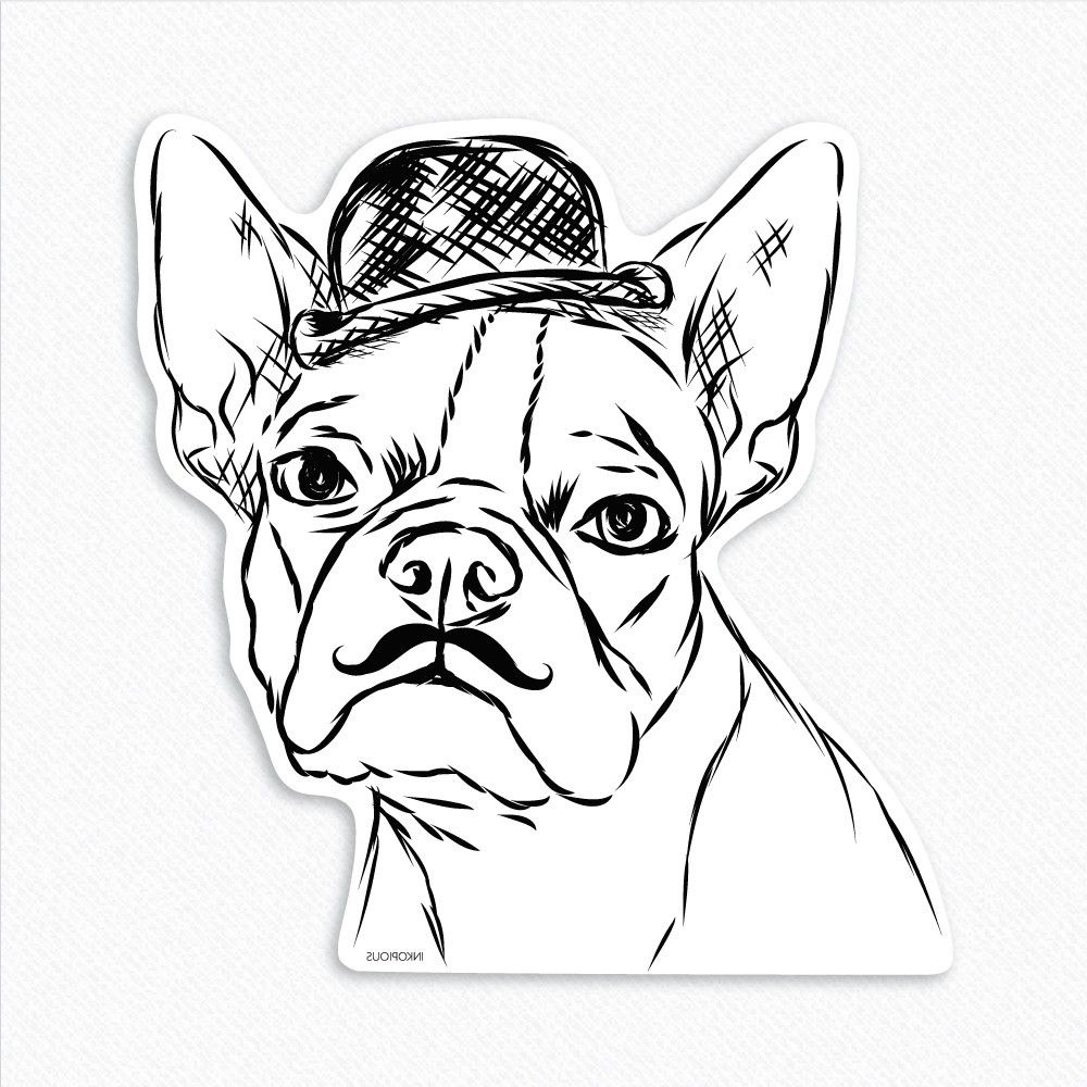 boston terrier coloring pages 5