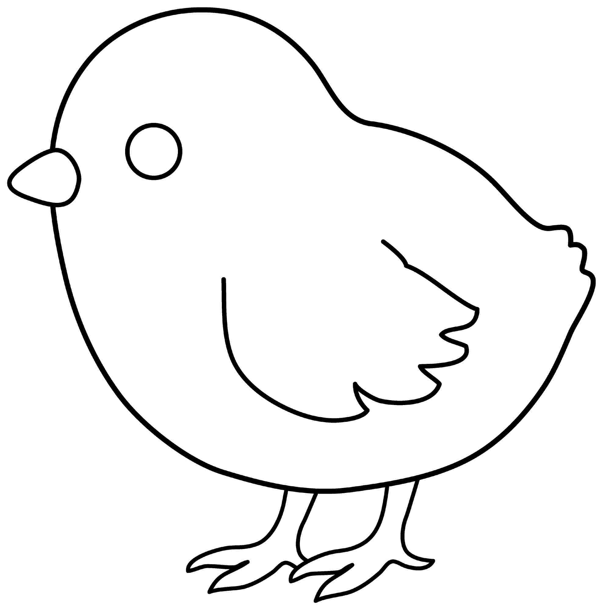 chicken coloring pages 3