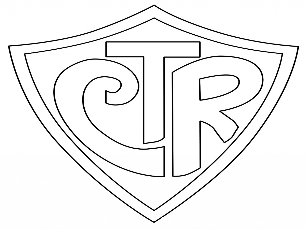ctr shield coloring page 3