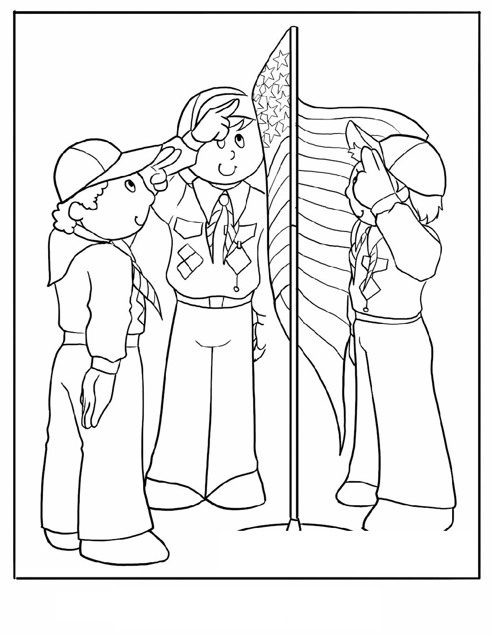 cub scout coloring pages 5