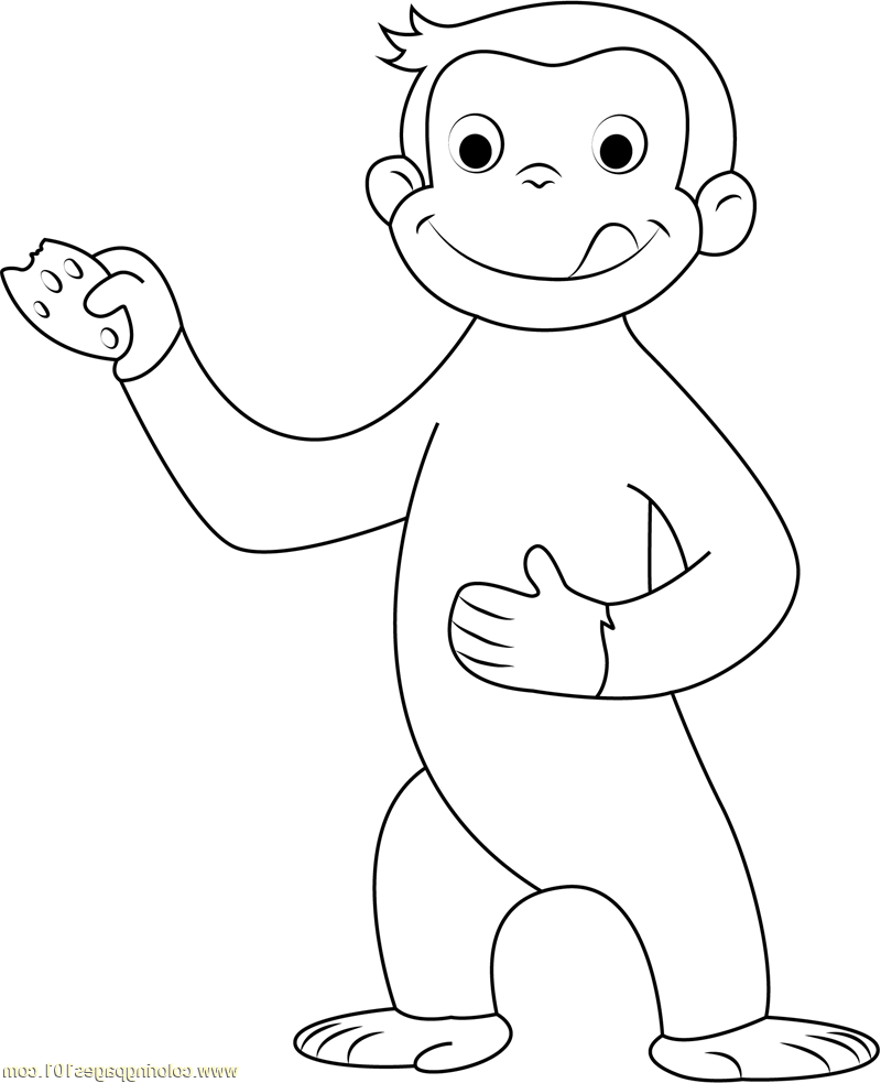 curious george coloring pages 3