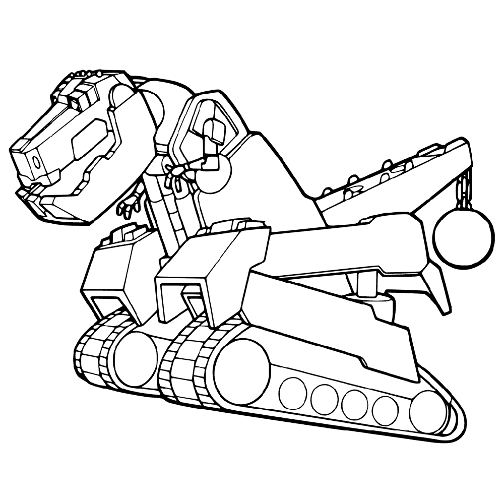 dinotrux coloring pages tie z