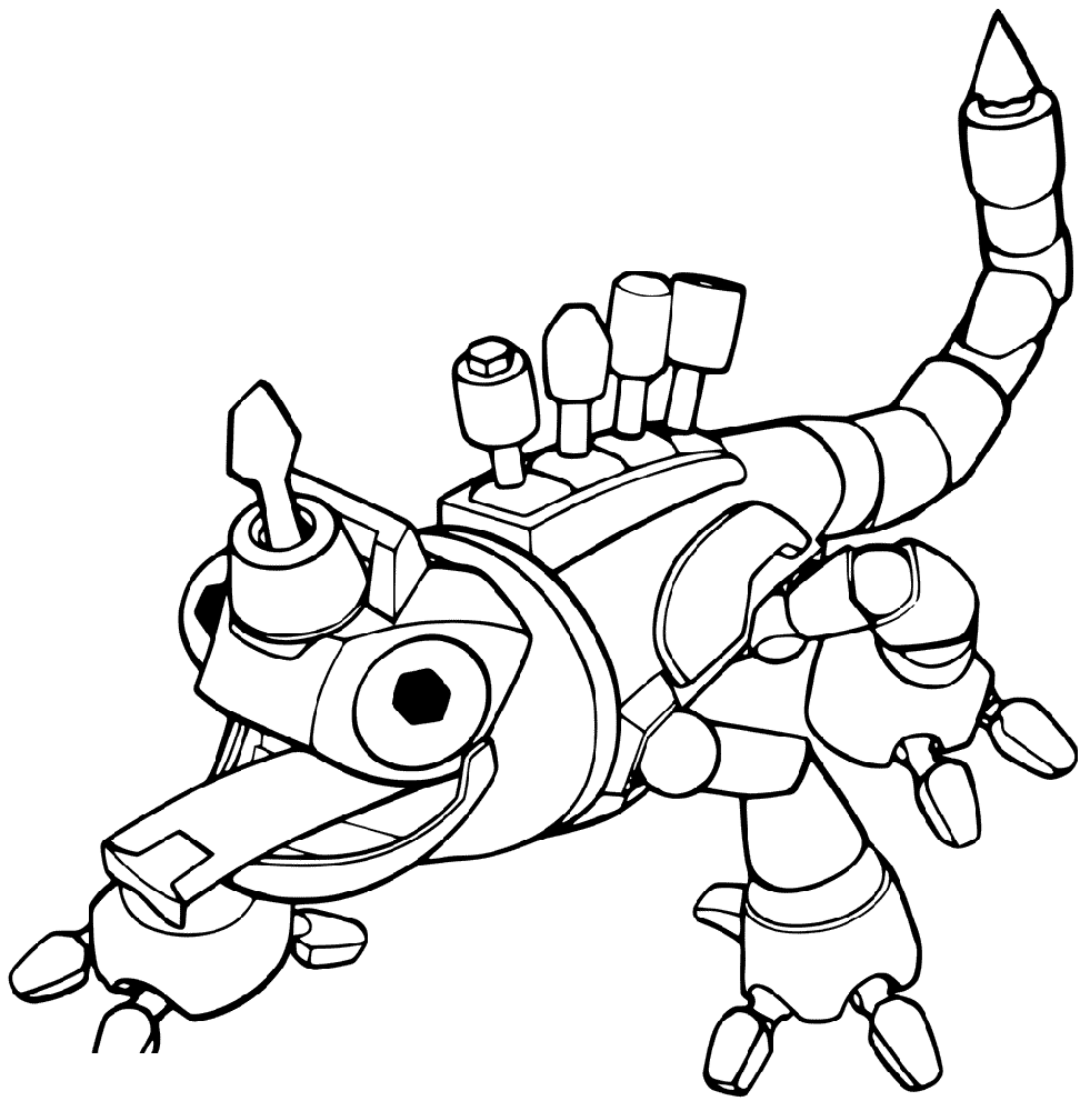 dinotrux coloring pages tie