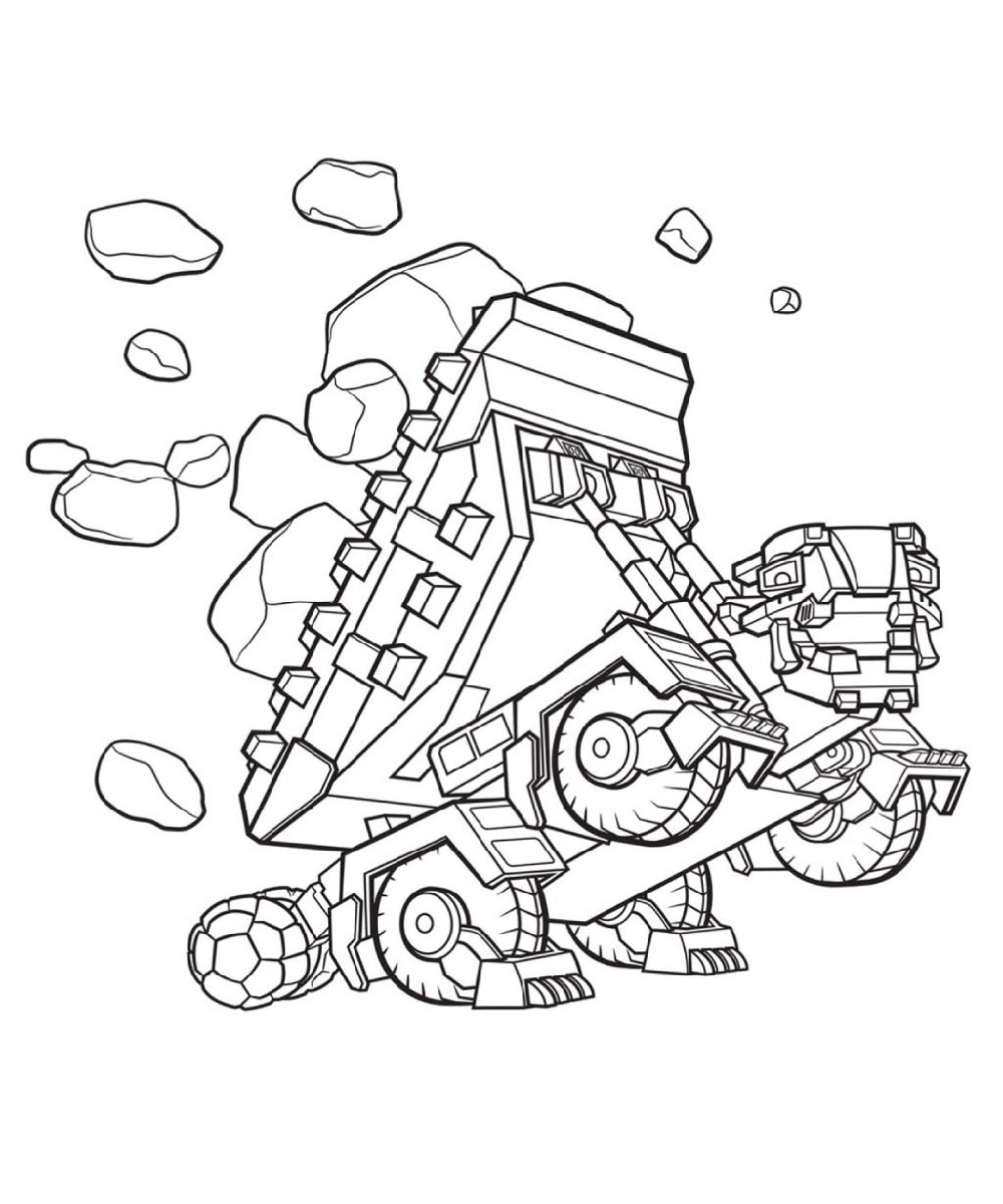 dinotrux coloring pages tonton dinotrux