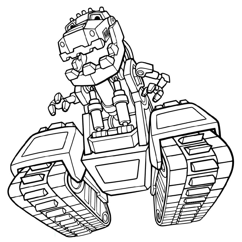 dinotrux coloring pages tonton