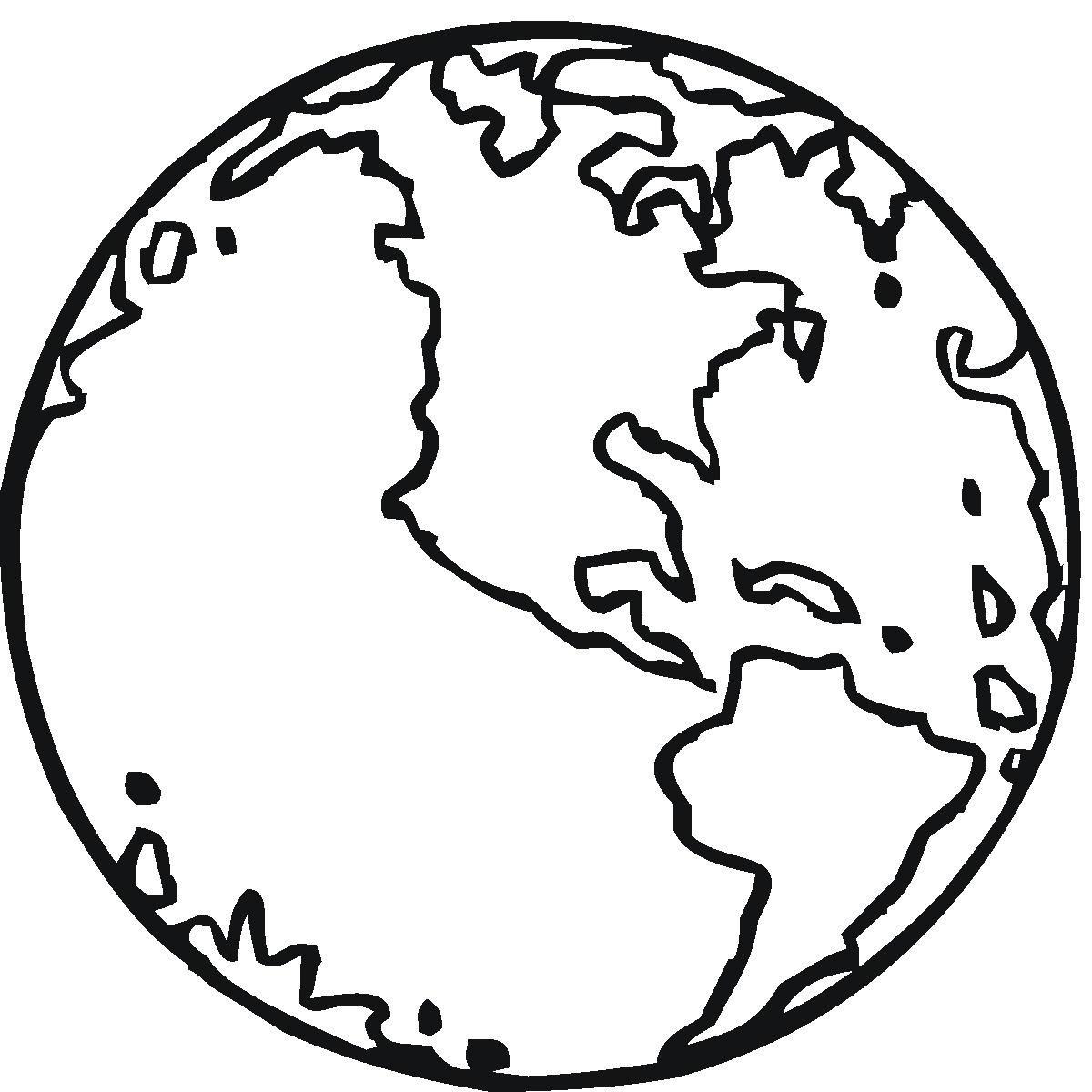 earth coloring pages 2