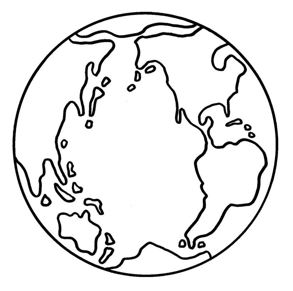 earth coloring pages 3
