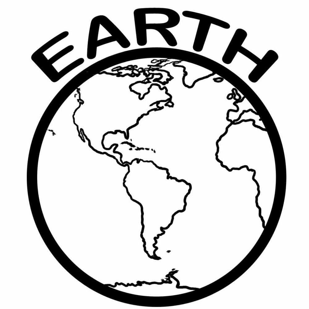 earth coloring pages 4