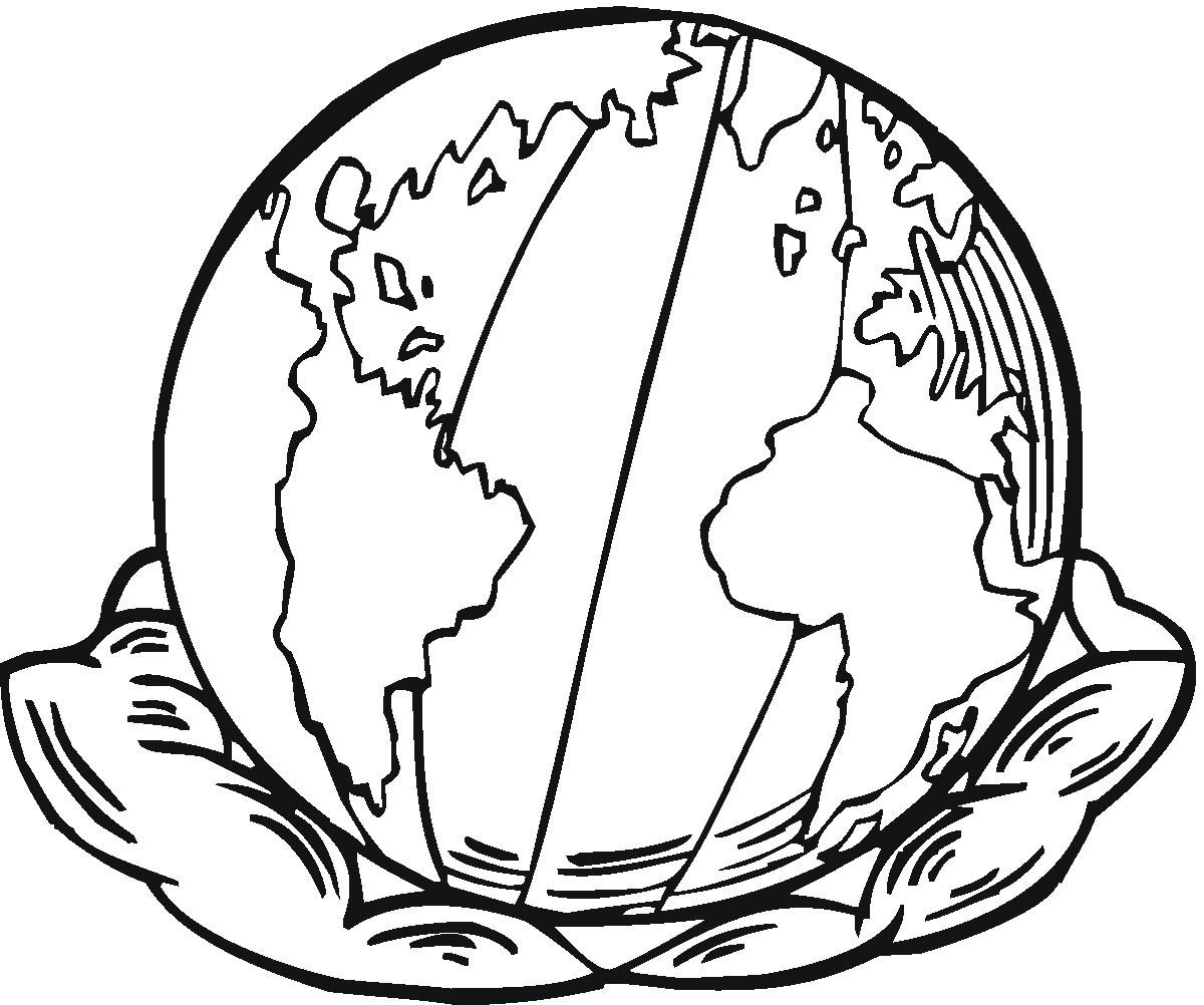 earth coloring pages 5