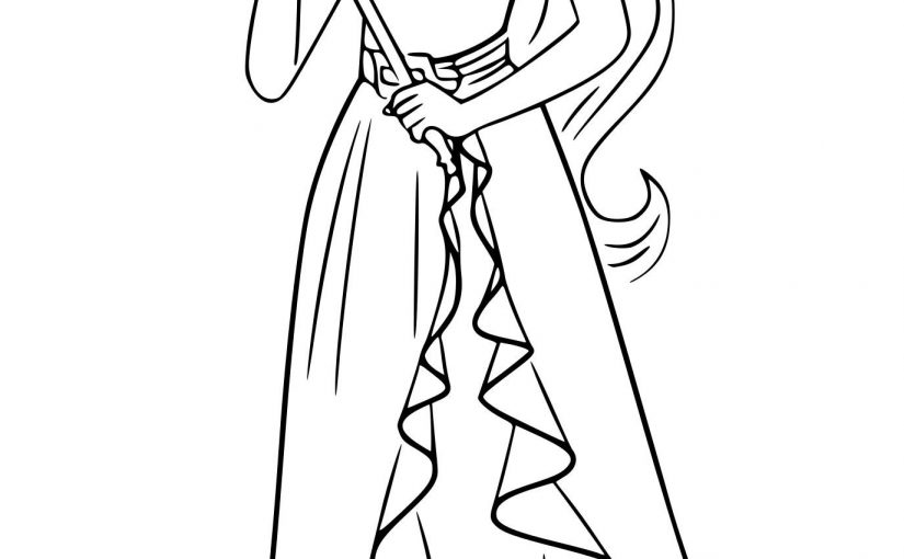 elena of avalor coloring pages 3