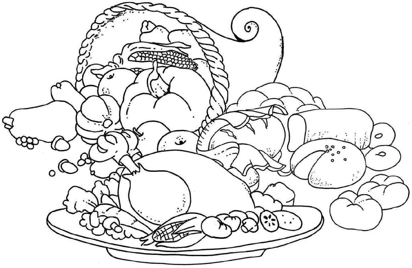food coloring pages 5
