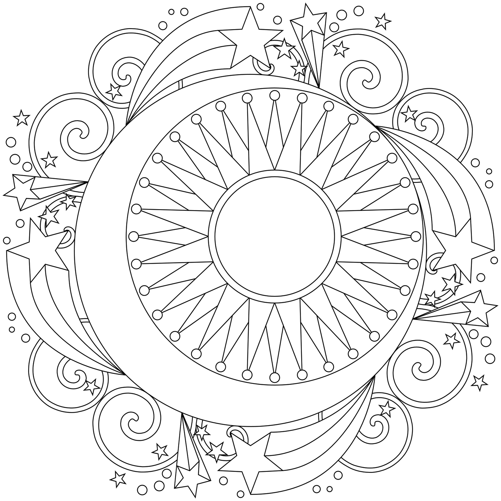 free mandala coloring pages 5