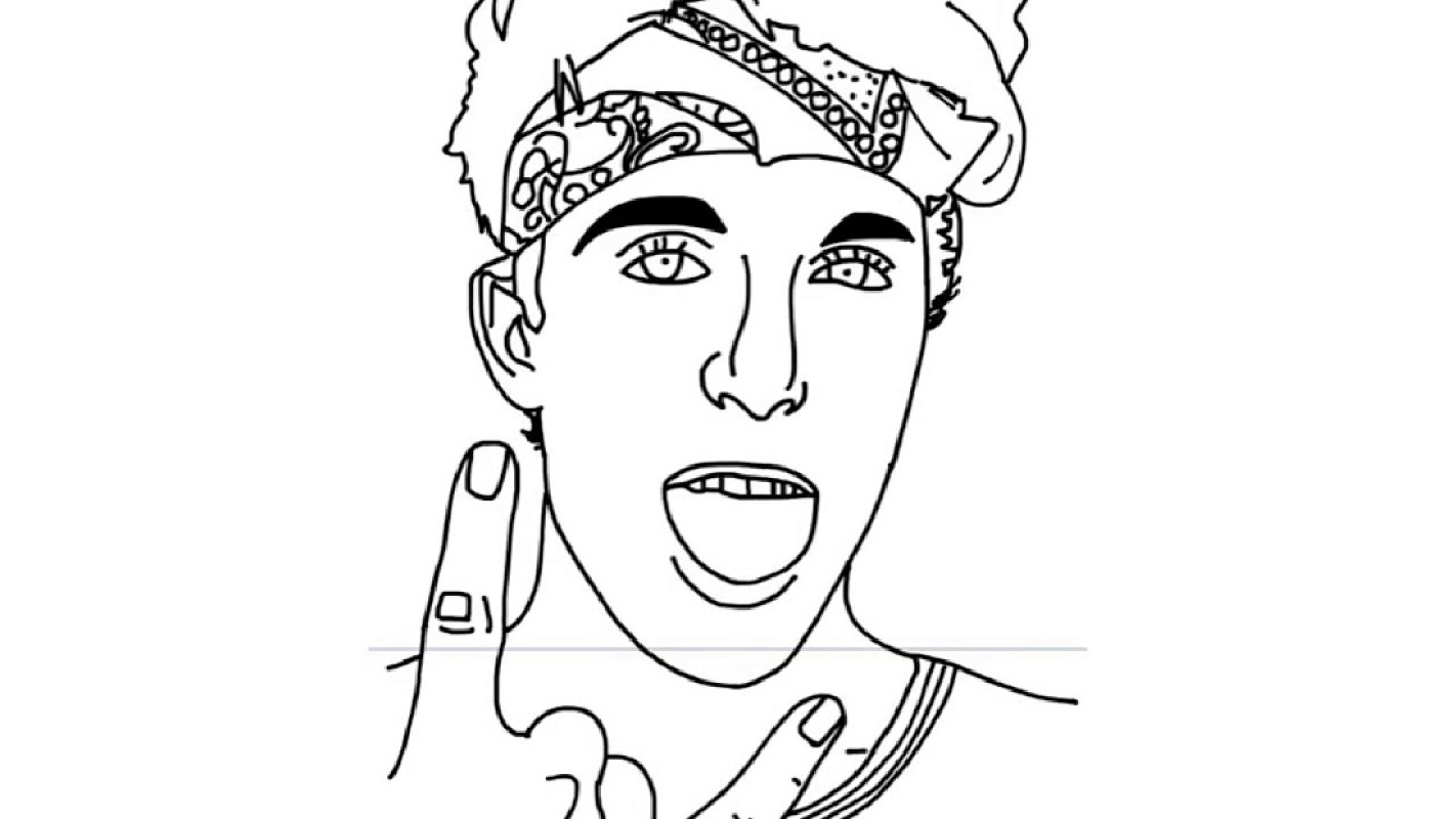 jake paul coloring pages 3