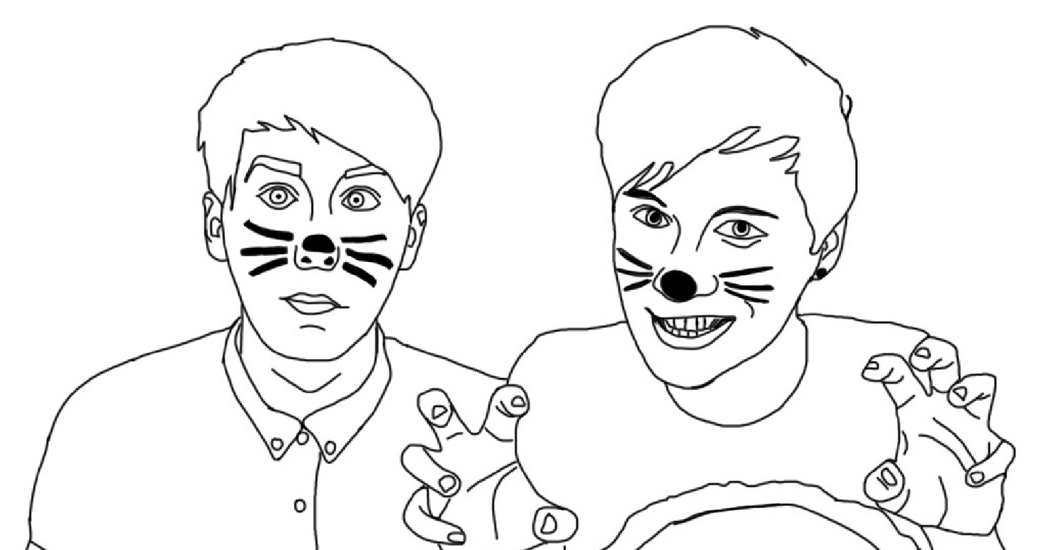 jake paul coloring pages 5