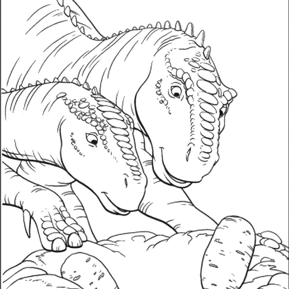 jurassic park coloring pages 3