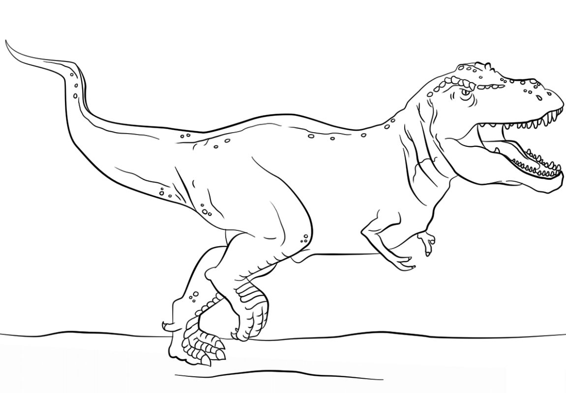 jurassic park coloring pages 4