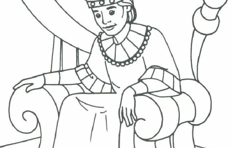 king david coloring pages 1