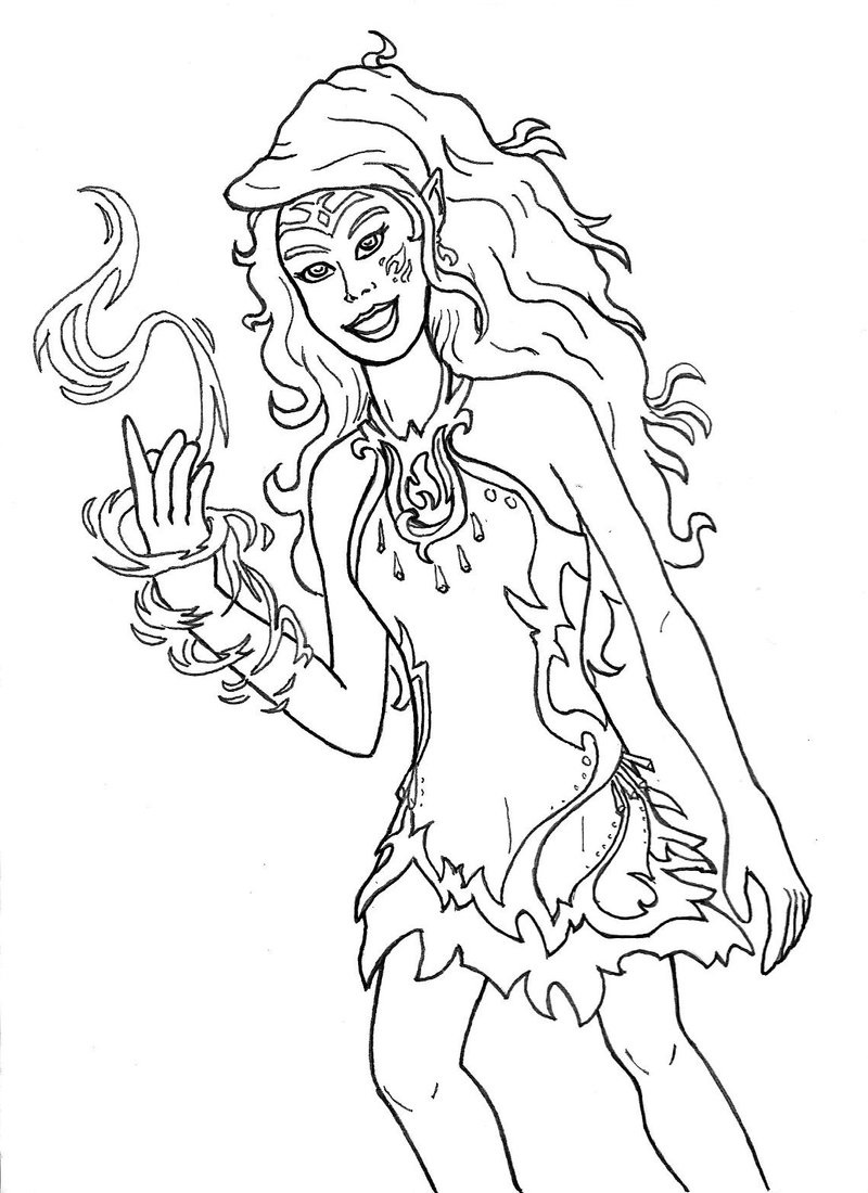 lego elves coloring pages 3