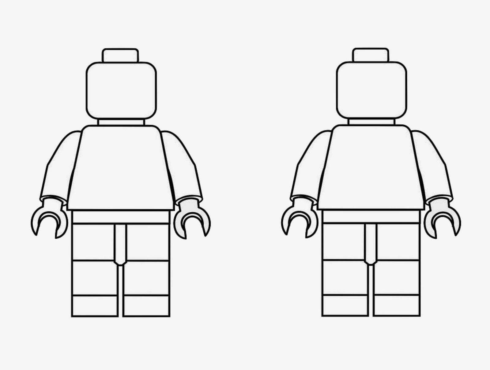 lego man coloring page 3