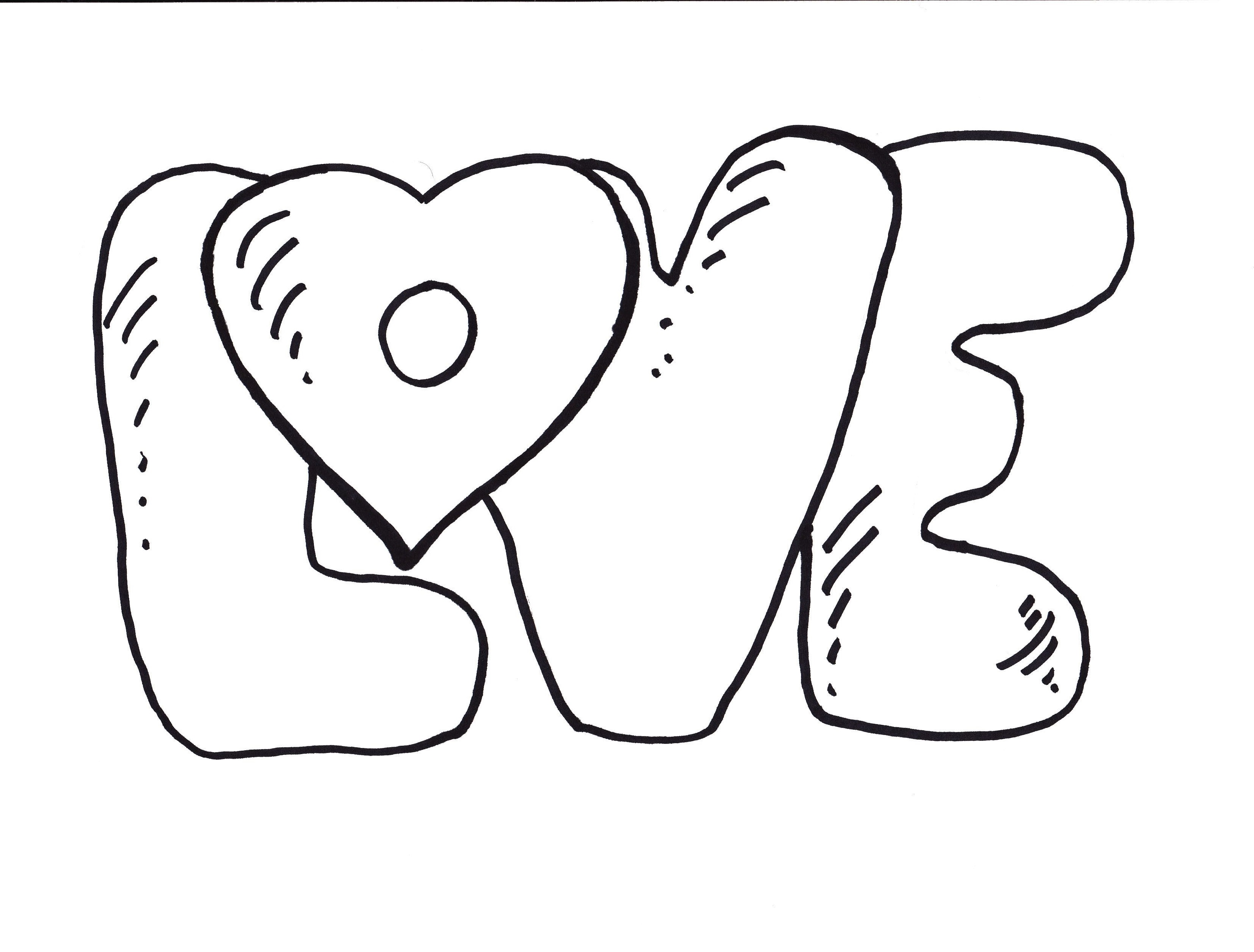 love coloring pages 4