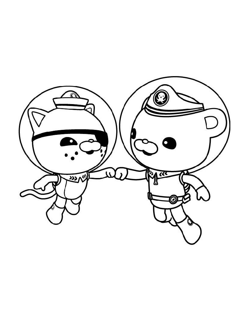 octonauts coloring pages 1